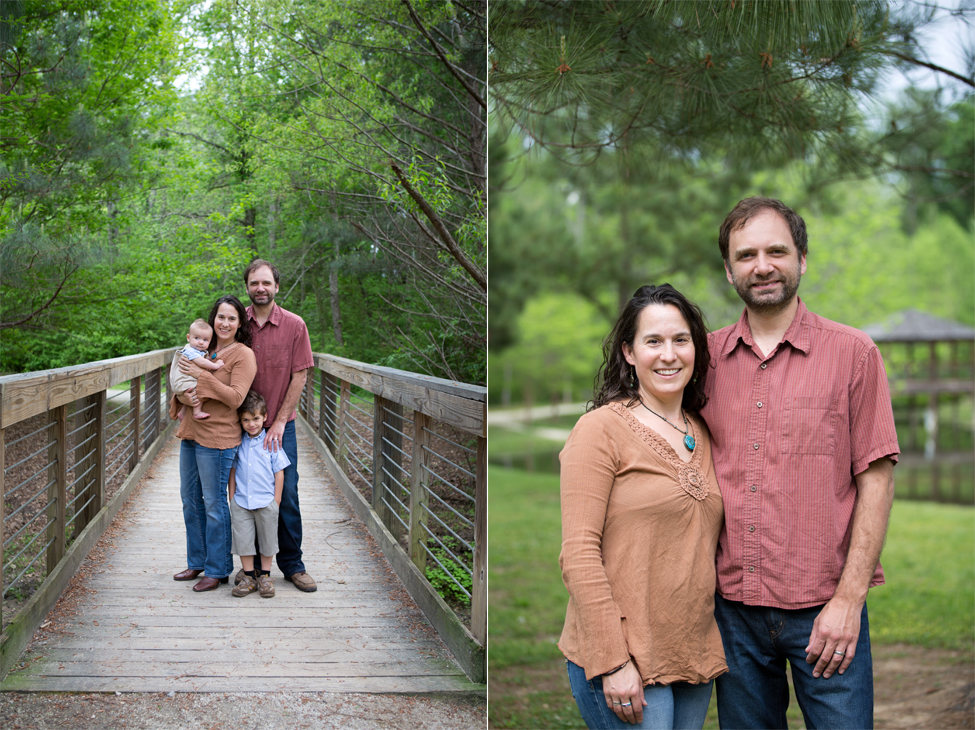 family photos bridge