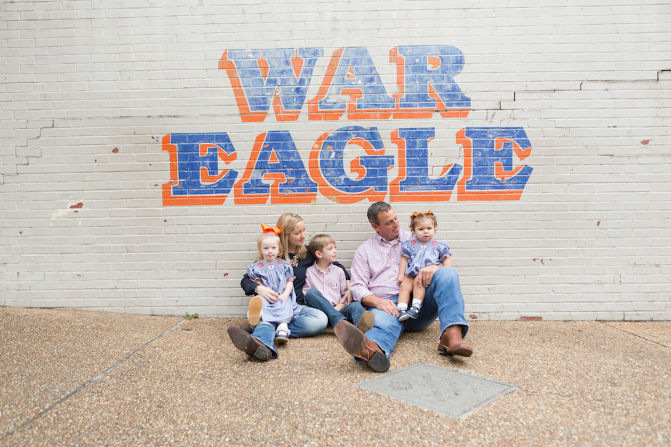 war eagle family photo