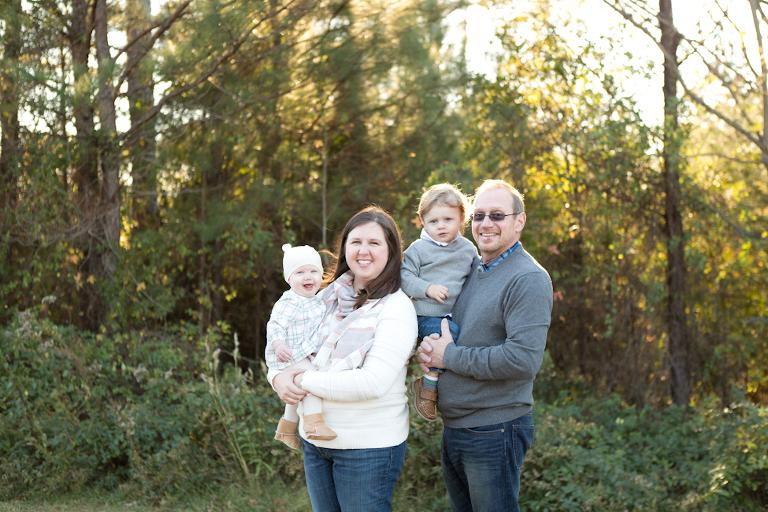 golden hour family session
