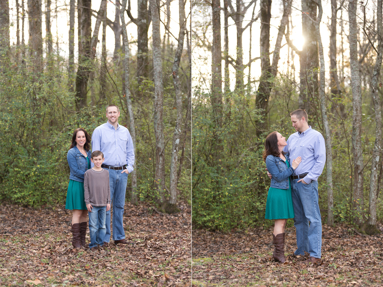 town creek park family session