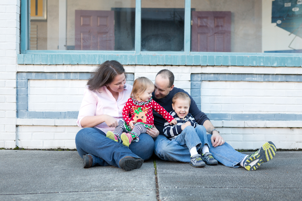 downtown family session