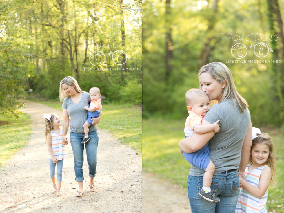 Auburn mommy and me session