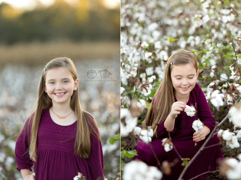 girl in alabama cotton