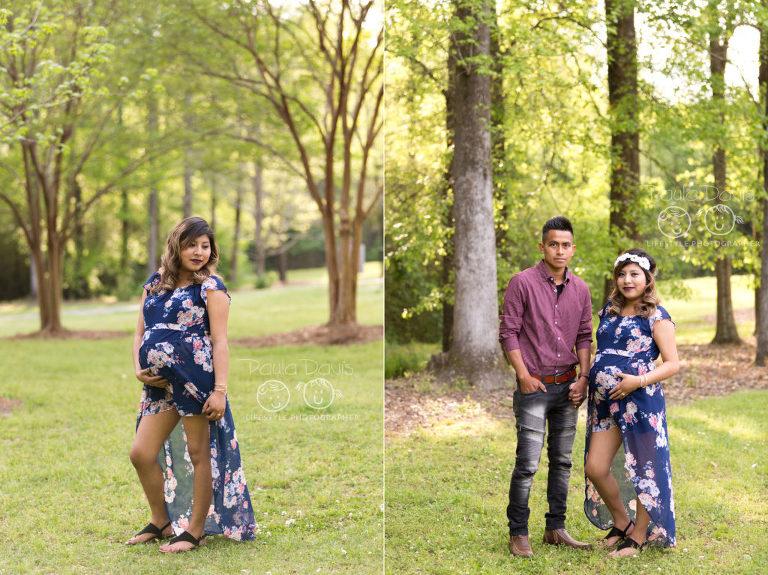 park maternity session