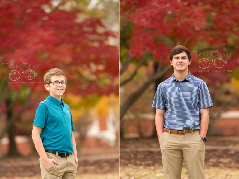 brothers during the fall
