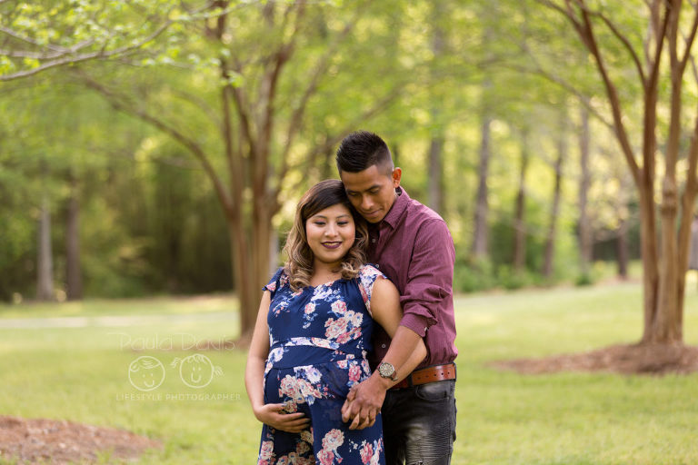town creek park maternity session