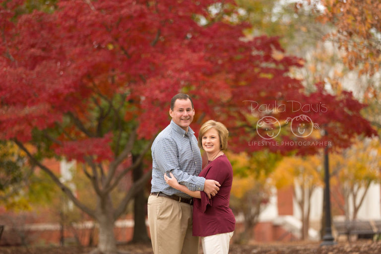 auburn al fall family session